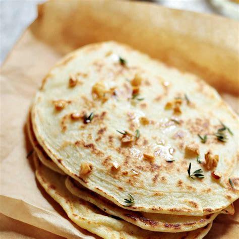 paleo garlic naan bread quick  easy recipe paleo grubs