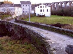 El Camiño Primitivo pasa por el barrio de A Chanca de la capital lucense