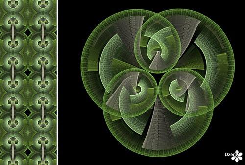 Green Pretzel