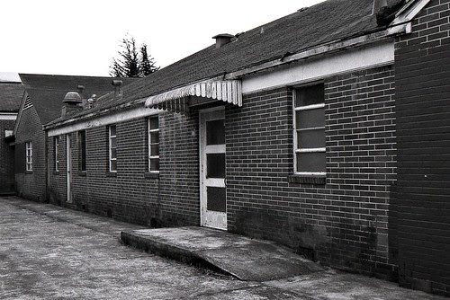 Abandoned Brick Church