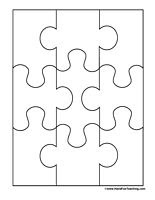 Blank Puzzle - 9 Pieces   Pictures, Stock information and Puzzle ...