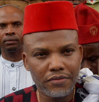Nnamdi Kanu,finally reacts to Federal government plans to revolt his bail