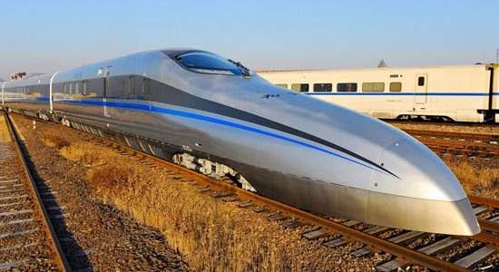 China testa trem-bala capaz de fazer 500 quilômetros por hora