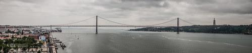 Puente del 25 de Abril, panorámica