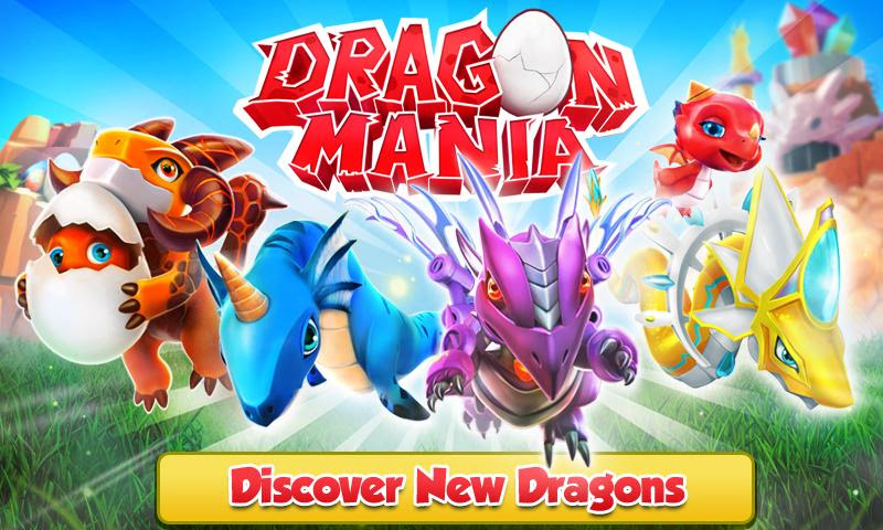 MOD] Dragon Mania v3 0 0 Android MOD APK (Unlimited Golds/Crystals
