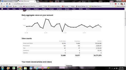 My Flickr Stats by firoze shakir photographerno1