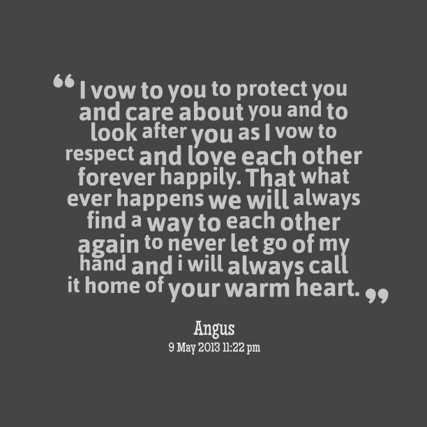 Imágenes De I Will Always Protect You My Love Quotes