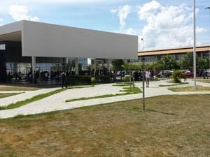 Campus Sede da Univasf em Petrolina (Foto: Leciane Lima / TV Grande Rio)