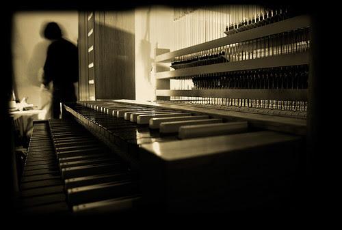 construcció de s'orgue