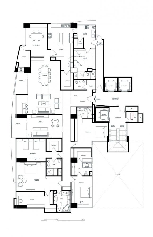 Departamento Bosque Alto - Puuk Arquitectura, Arquitectura, diseño, casas