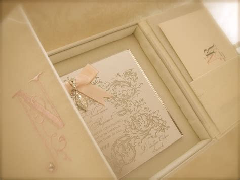 """Praha""   Silk Box Wedding Invitation by Embellishments"