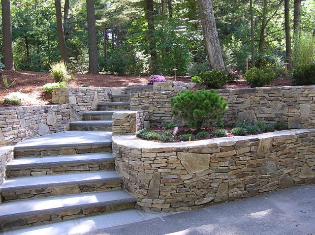 Hillside Landscaping Ideas Retaining Walls