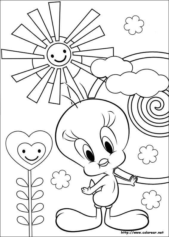 Dibujos De Piolín Para Colorear En Colorearnet