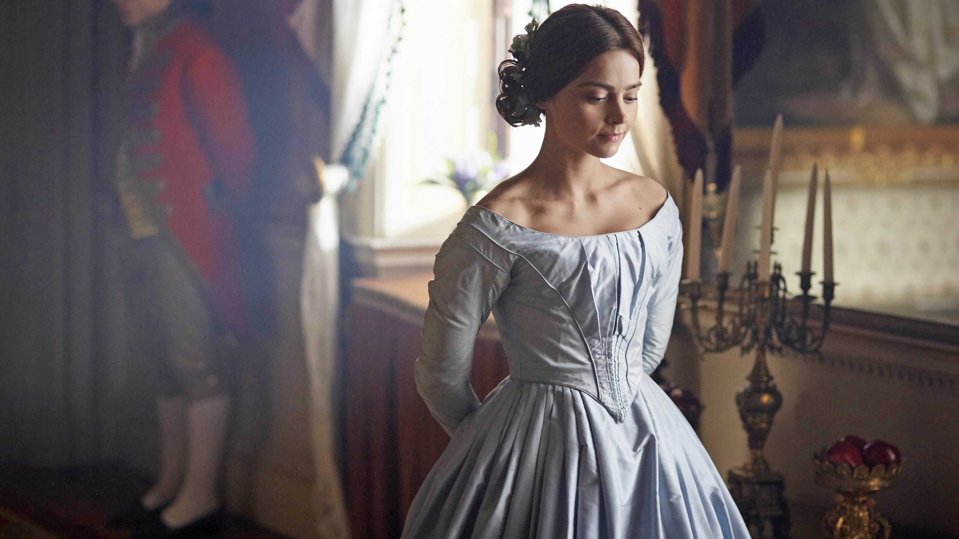 Image result for victoria on masterpiece dresses