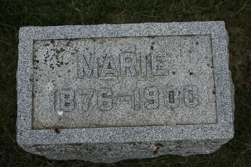 Tombstone of Marie Kiesel