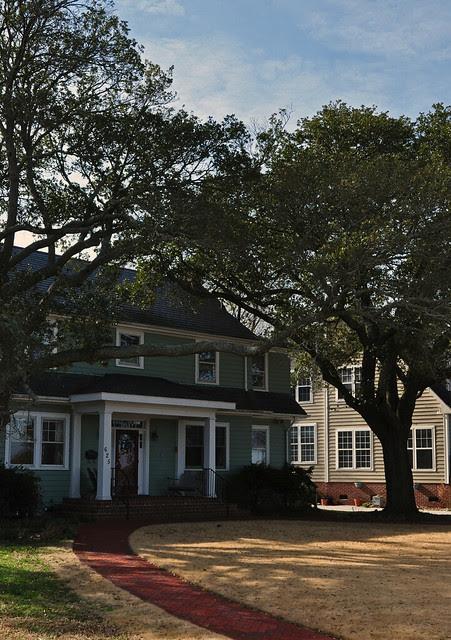 Live Oak Framed House