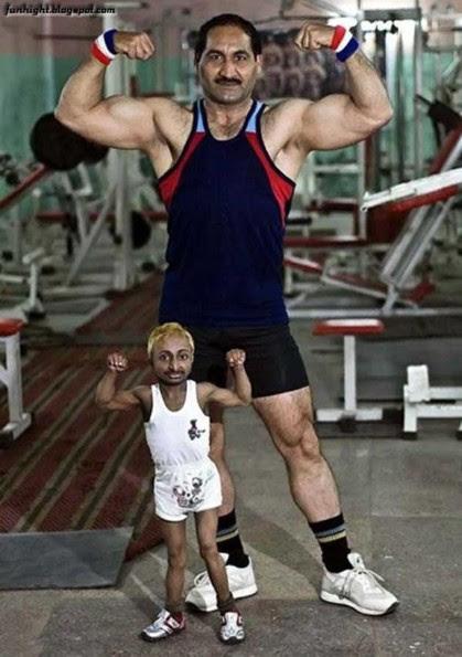 Menor Fisiculturista do Mundo