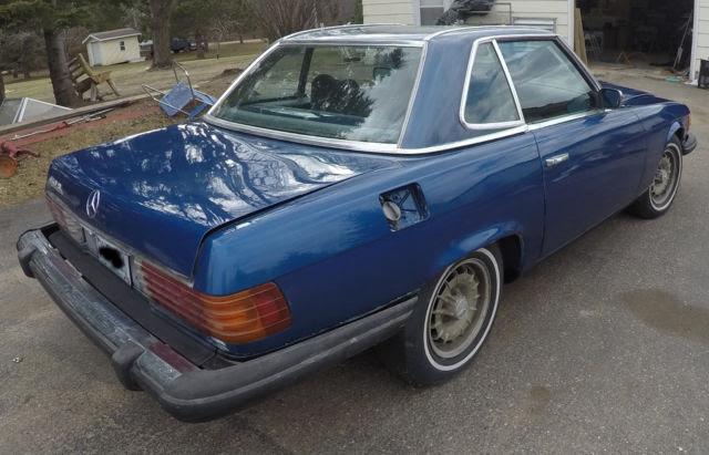 1975 Mercedes 450sl Hardtop Convertible for sale ...