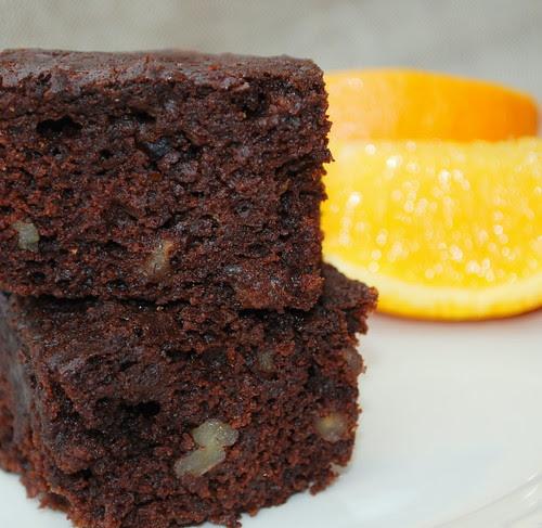 Orange Brownies CU