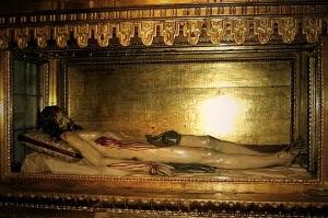Cristo Yacente de Gregorio Hernández