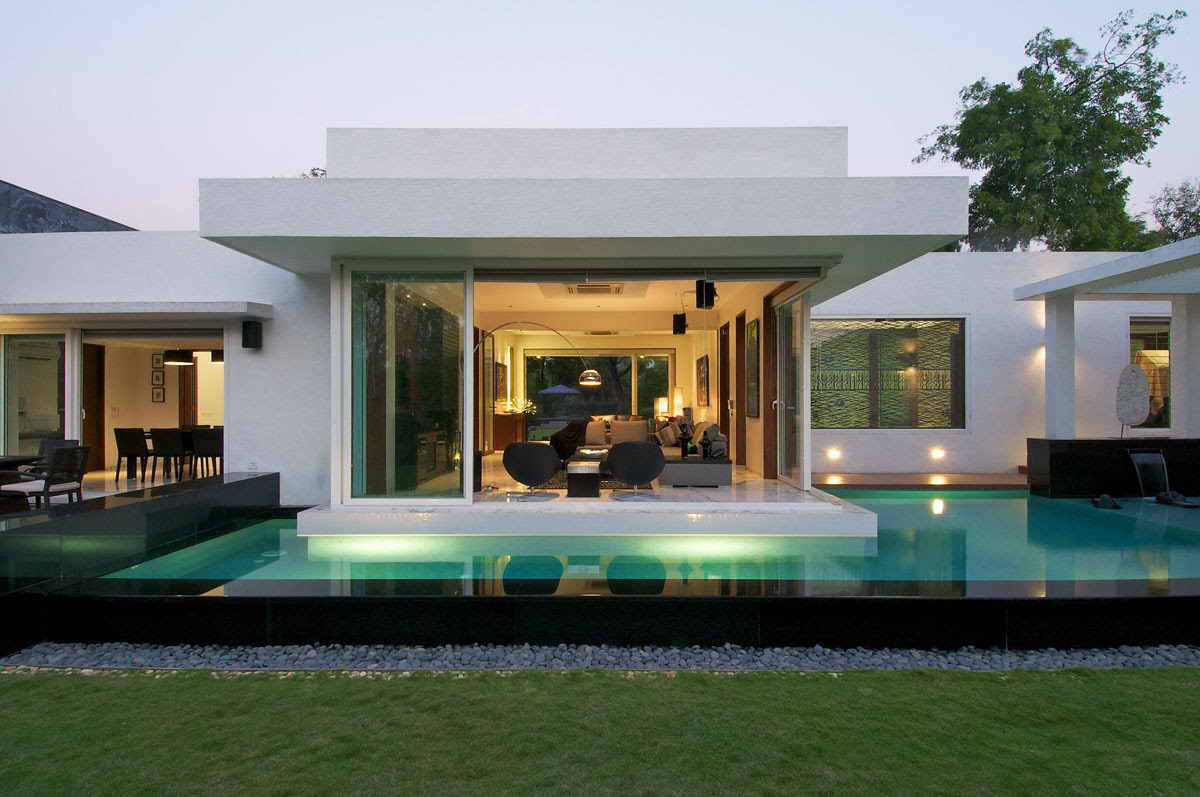 Minimalist Bungalow In India iDesignArch Interior