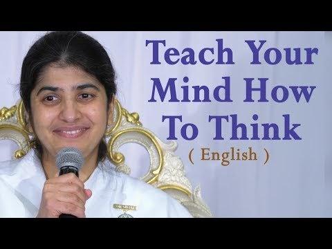 Teach Your Mind How To Think: BK Shivani at Visalia, California