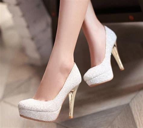 2015 Glitter Lady Spring Dress Shoes Stiletto Heel