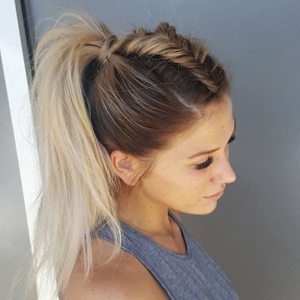 Coiffure Mariage 2017 Tresse Coiffure Mariage Natte