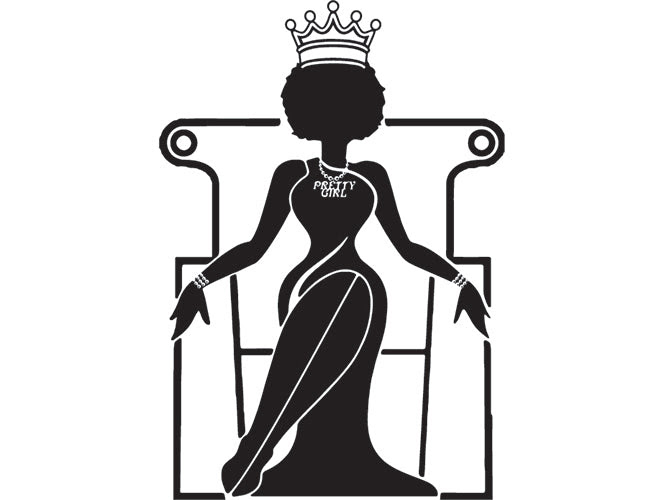 Download Black Queen SVG For Silhouette and Cutting File ...