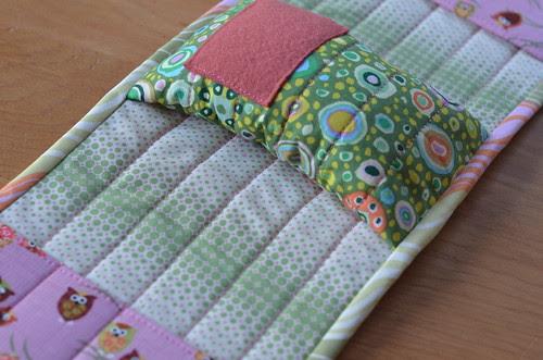armrest pin cushion by Poppyprint
