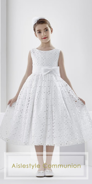 Aislestyle offer the high quality custom-made communion dresses at very low price