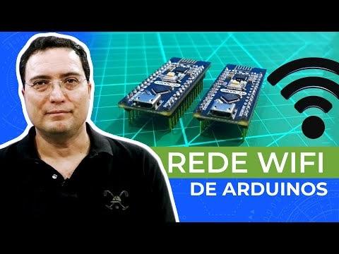 Rede WiFi de Arduinos