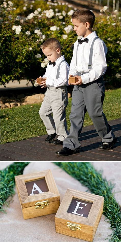 1000  ideas about Ring Bearer Box on Pinterest   Wedding