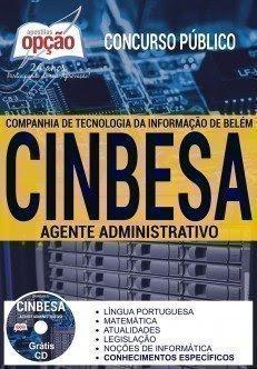 Apostila Concurso CINBESA Agente Administrativo (Download)