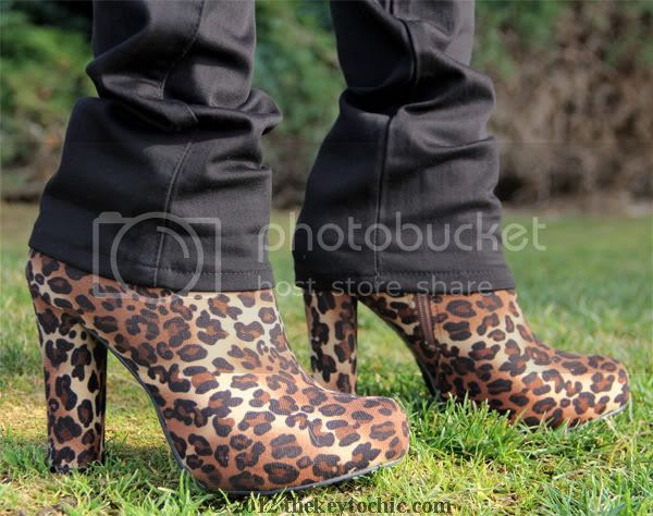 James Jeans Couture Collection, Forever 21 leopard boots, cheetah platform booties, Los Angeles fashion blogger