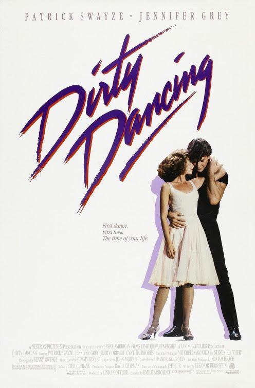 Resultado de imagen de dirty dancing poster