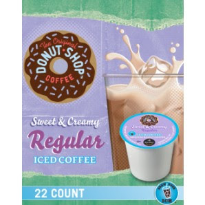 Donut Shop Sweet and Creamy Keurig Kcup Iced coffee