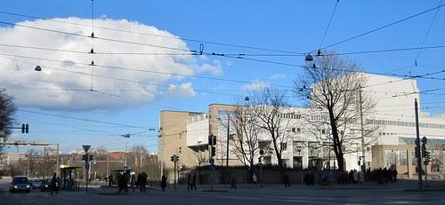 The Opera House and a strange cloud