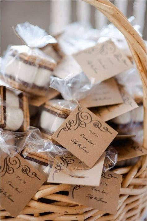 Top 20 Rustic S'more Wedding Favor Ideas   Roses & Rings