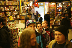 The Comic Outpost signing, SF