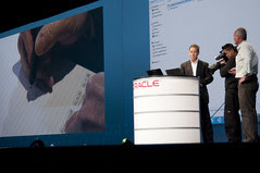 Jim Marggraff and Greg Bollella, JavaOne Keynote, JavaOne + Develop 2010 San Francisco