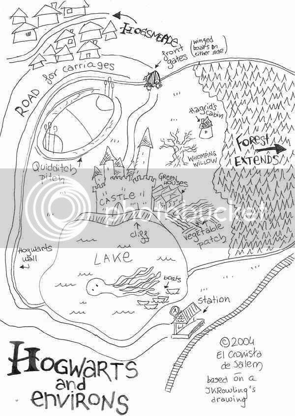 Risultati immagini per hogsmead and hogwarts