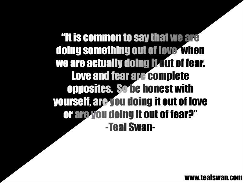Quotes About Being Scared To Love To Escape Fear You Have To Go