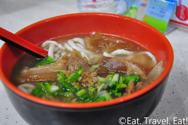 Beef Tendon+ Fish Noodles Soup