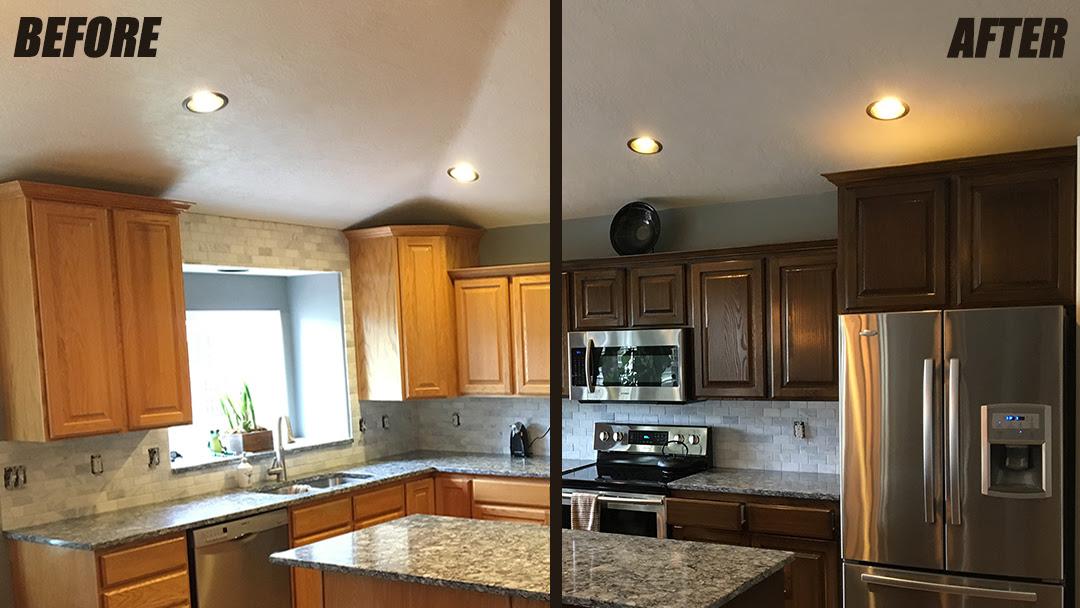 Cabinet Refinishing Service | WoodWorks Refurbishing Utah