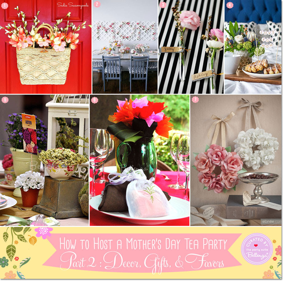 Mothers Day Tea Party Table Decorations Diy Mothers Day Gifts