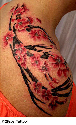 Flower Tattoos Floral Lily Lotus Tropical Sunflower Tattoo Designs