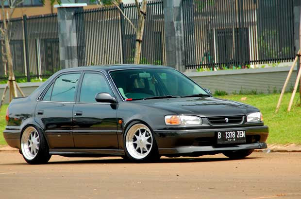 15 Modifikasi Sedan Toyota Great Corolla Terbaru - Otodrift