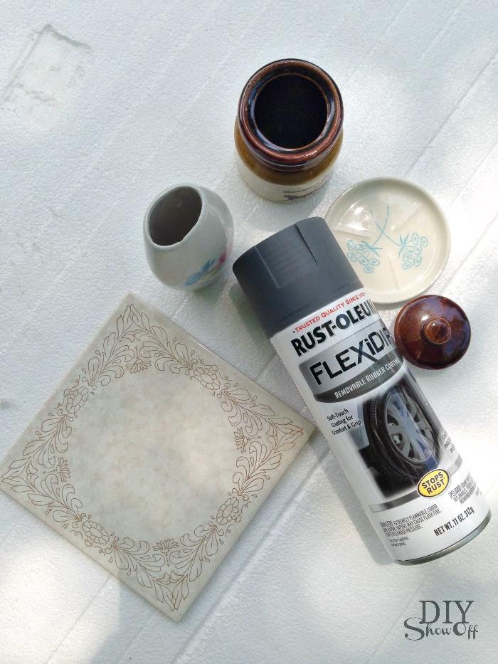 DIYShowOff bathroom counter organizer materials