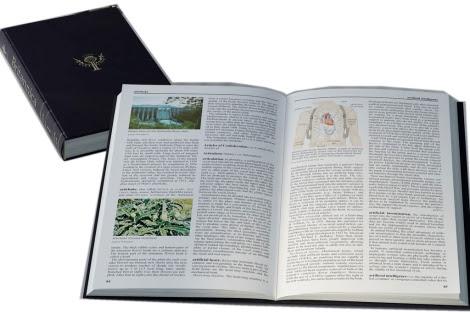 Volumen de la enciclopedia británica.